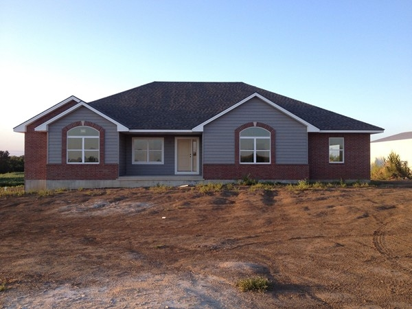 New home construction west of Higginsville