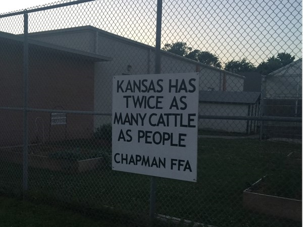 Chapman FFA is ranked nationally among other schools