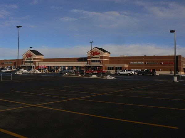 Completed in 2013, the new Dillons Marketplace is a short 20 minute drive from downtown Buhler.