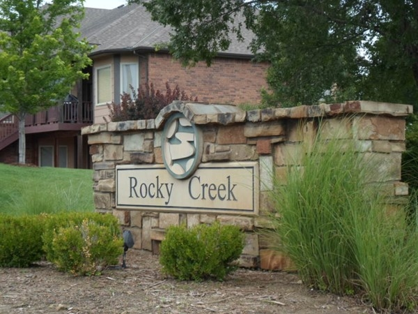 Rocky Creek features high end luxury homes