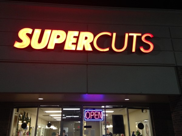 Supercuts in Glen Hills Shopping Center is open late for those hair needs