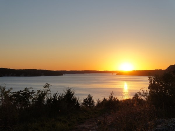 Sunset overlooking the Lake of the Ozarks