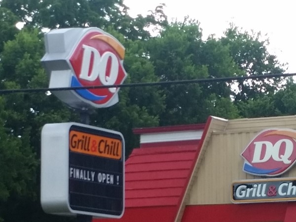 Finally! Westside Dairy Queen is open