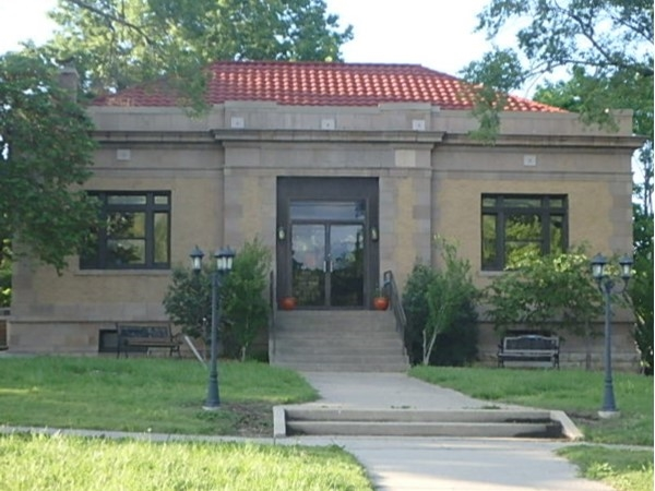 May be the smallest Carnegie Library in the United States