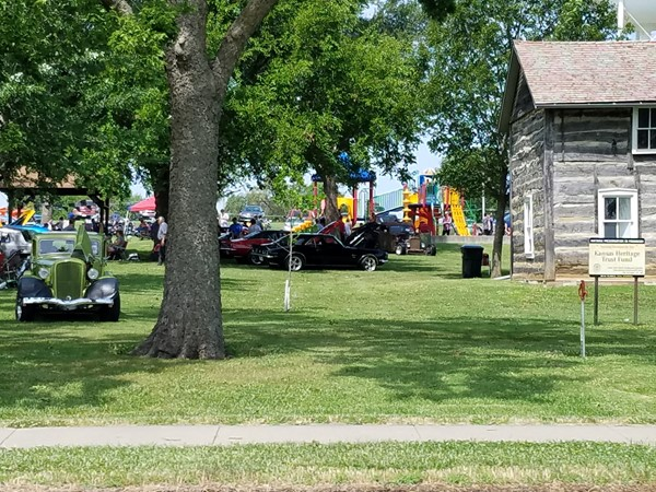 Annual Car Show, hosted by Lyndon United Methodist Church. The park was full this year